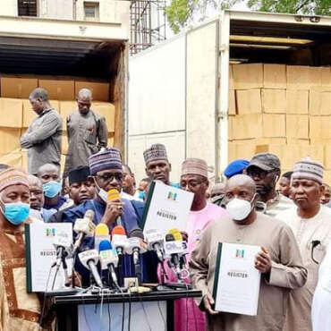 APC: Governor Buni-Led Caretaker Committee Receives Membership Registration Materials