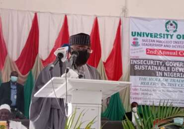 All Progressives Congress paper delivered by the National Chairman of the All Progressives Congress (APC) Caretaker/Extraordinary Convention Planning Committee (CECPC), Governor Mai Mala Buni at the 2nd Colloquium of the Sultan Maccido's Institute for Peace, Leadership and Development Studies, University of Abuja, on 7th April, 2021. Governor Buni was represented by the APC CECPC National Secretary, Sen. John James Akpanudoedehe Ph.D.